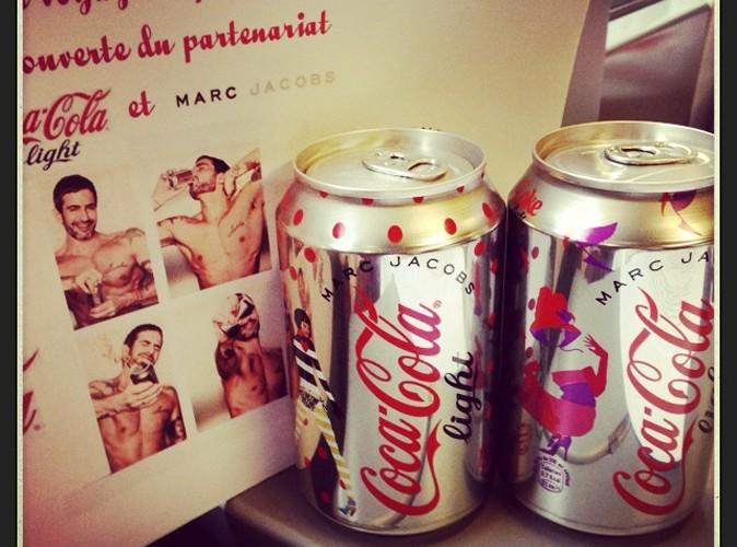 Canettes Coca-Cola Light version Marc Jacobs !