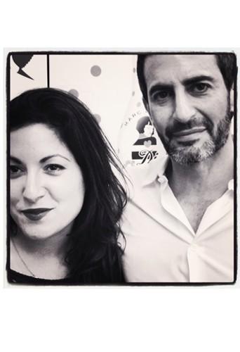 Notre envoyée spéciale Leslie Benaroch et Marc !