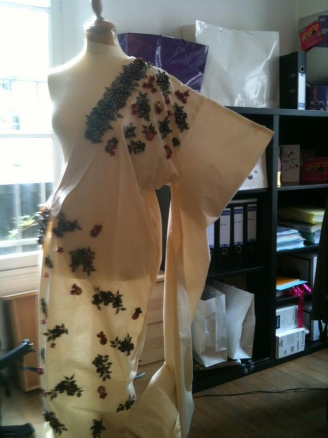 La robe plus en détails