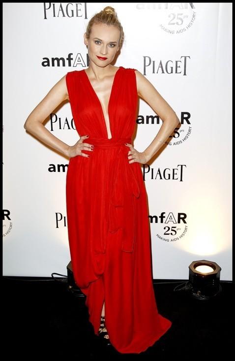 Diane Kruger en Yves Saint Laurent