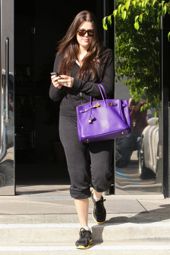 2011: Khloe à Hollywood !