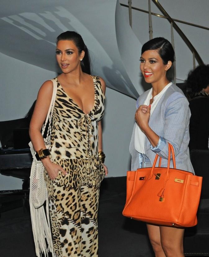 2011: Kim et Kourtney chez Vera Wang !