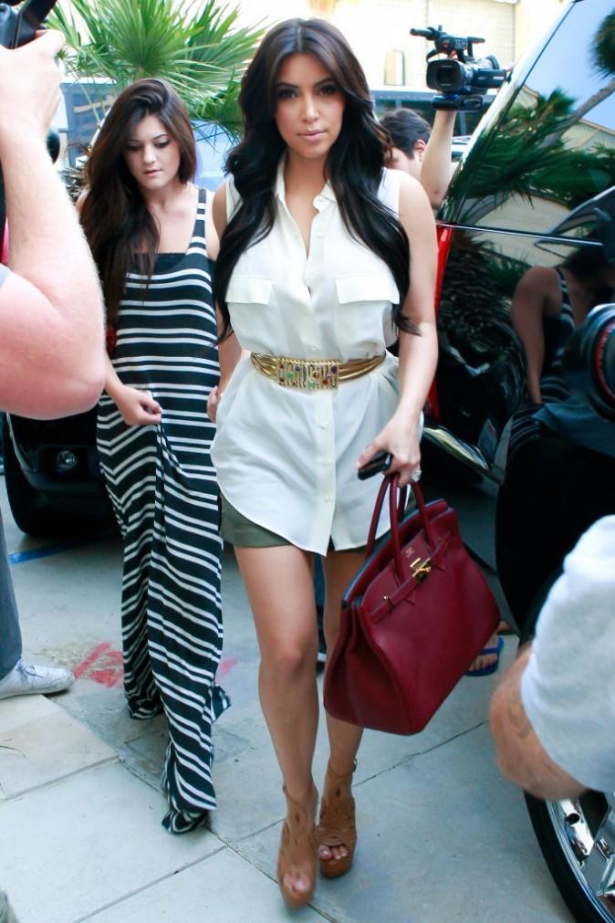 2012: Kim sort de la boutique Vera Wang !