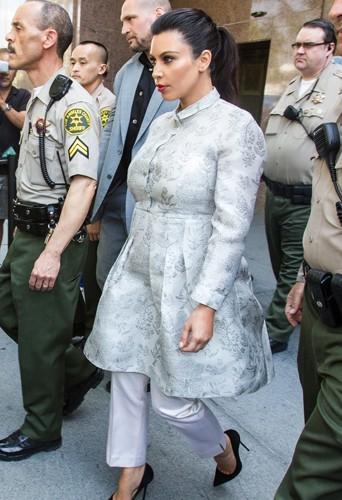 Kim Kardashian, le 12 avril 2013.