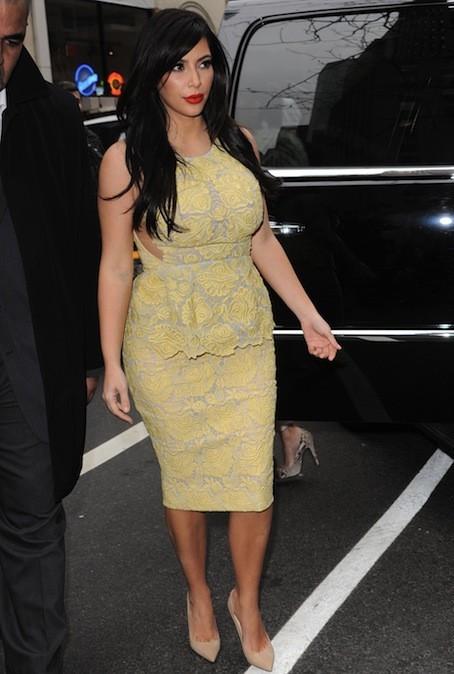 Kim Kardashian, le 15 janvier 2013
