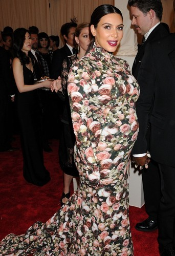 Kim Kardashian, le 7 mai 2013 au Met Ball !