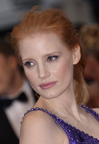 Jessica Chastain, le mercredi 22 mai 2013 au Festival de Cannes !