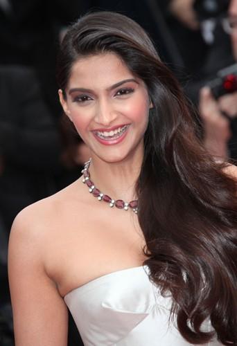 L'actrice indienne Sonam Kapoor le 16 mai 2013 au Festival de Cannes !