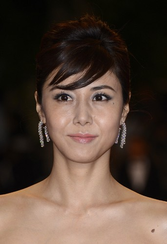 Nanako Matsushima, le lundi 20 mai 2013 au Festival de Cannes !