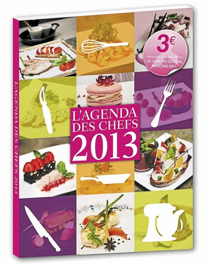 L'agenda des Chefs 2013 d'Olivier Chaput 9,90 €