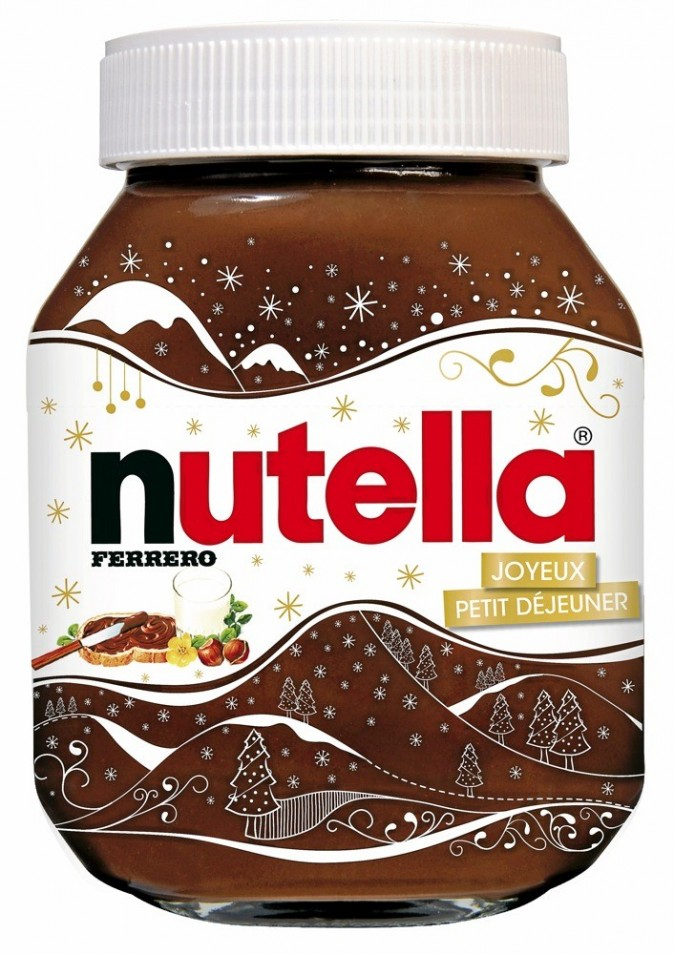 Pot de Nutella édition Noël, 1 kg, Ferrero 4,99 €