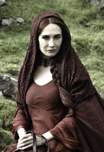 Carice Van Houten alias Mélisandre d'Asshai !