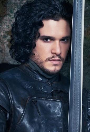 Kit Harington alias Jon Snow !