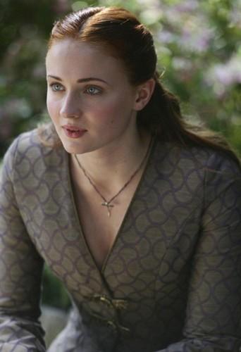 Sophie Turner alias Sansa Stark !