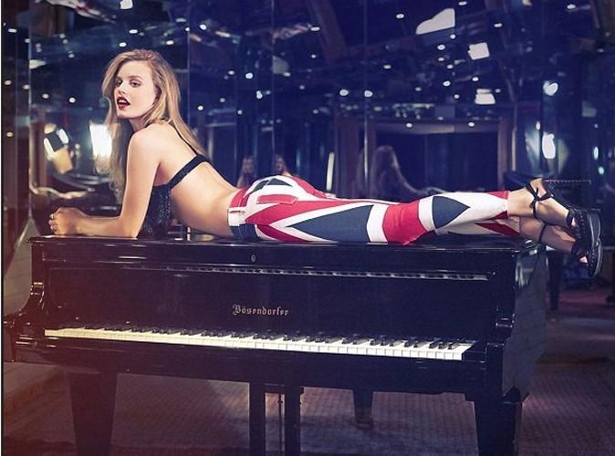 Georgia May jagger en Hudson Jeans : so british !