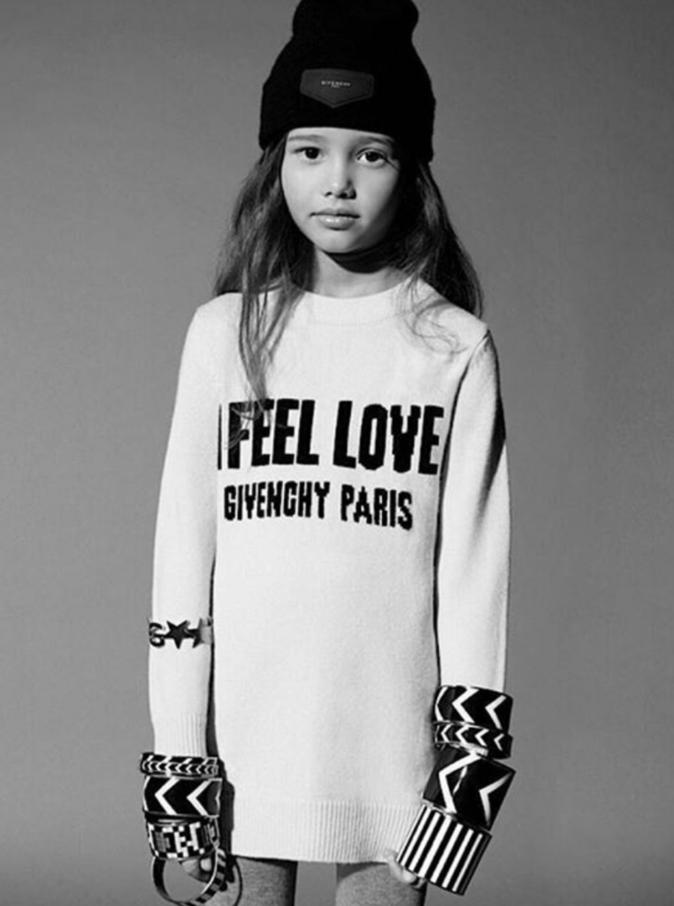 Givenchy lance sa toute première collection pour enfants