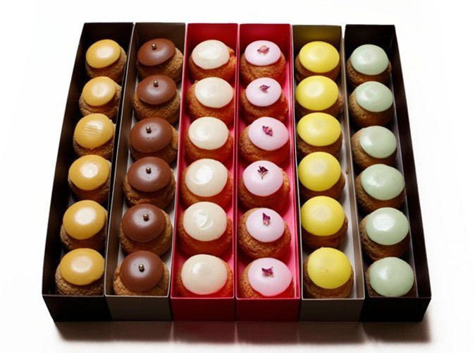 Popelini : des choux hauts en couleur !