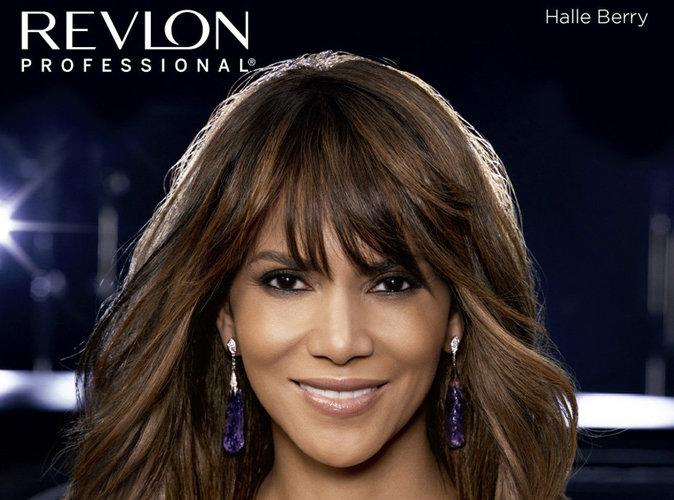 Halle Berry prête sa chevelure parfaite à Revlon Professional !