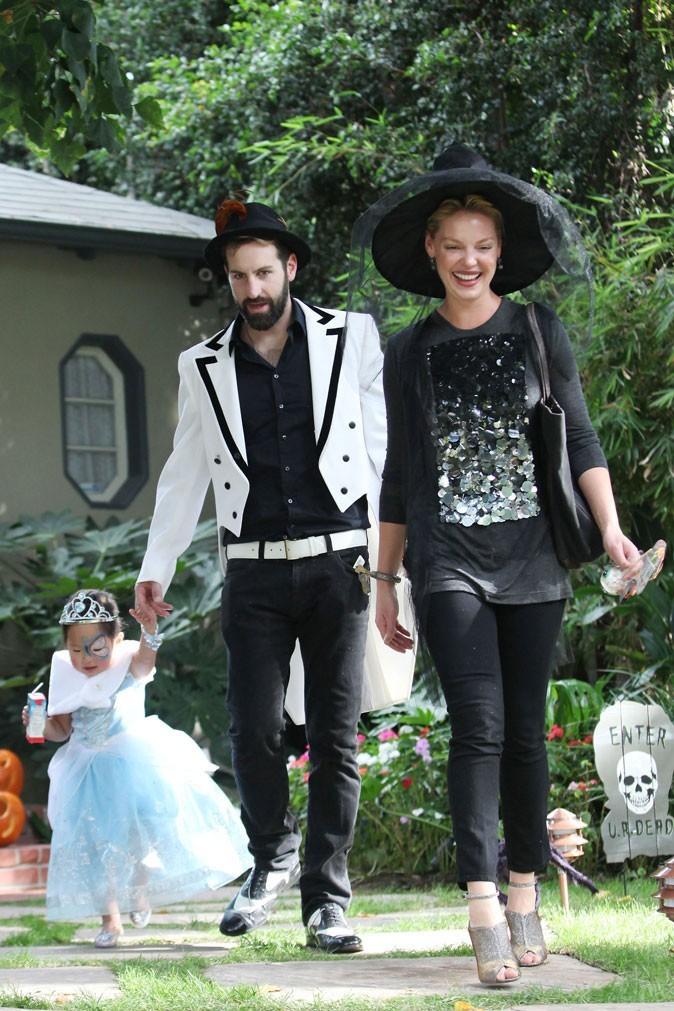 Katherine Heigl et son mari pour Halloween