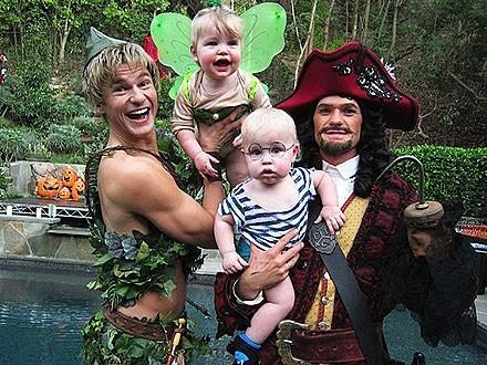 Neil Harris et David Burkta sortis de Peter Pan