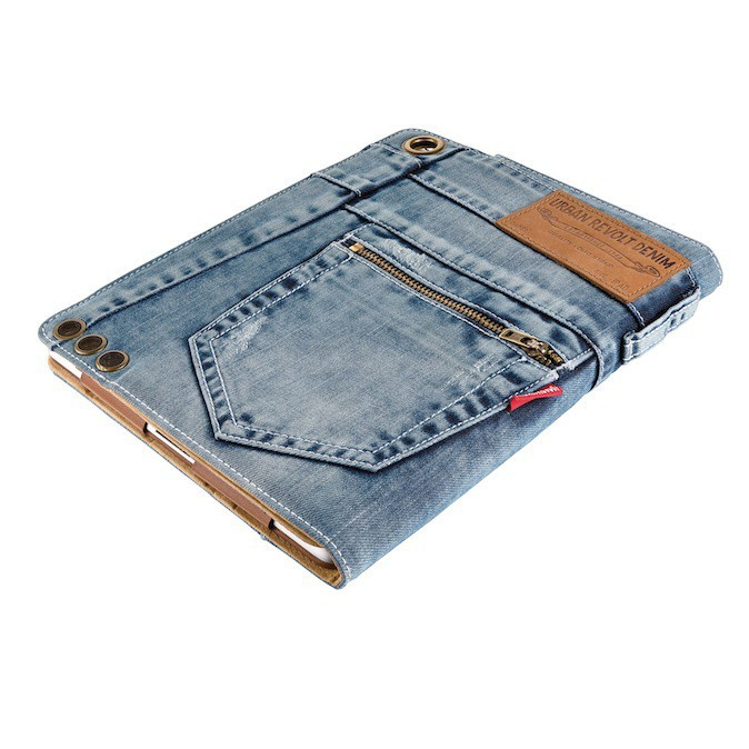 Housse iPad en jean, Urban Revolt sur lavantgardiste.com 50 €