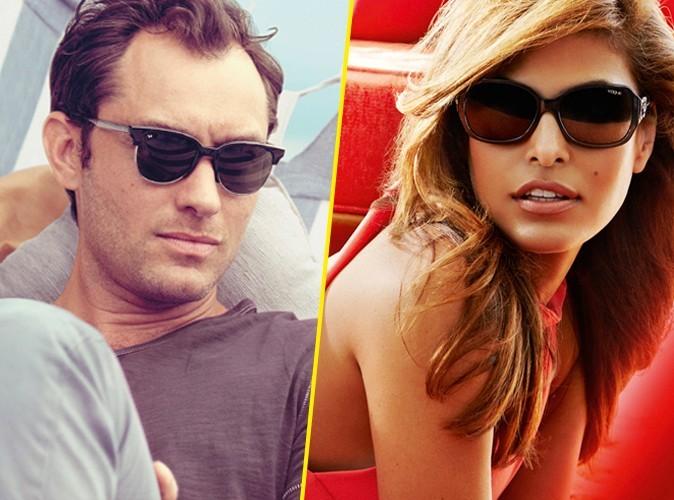 Jude Law et Eva Mendes en Vogue cet été