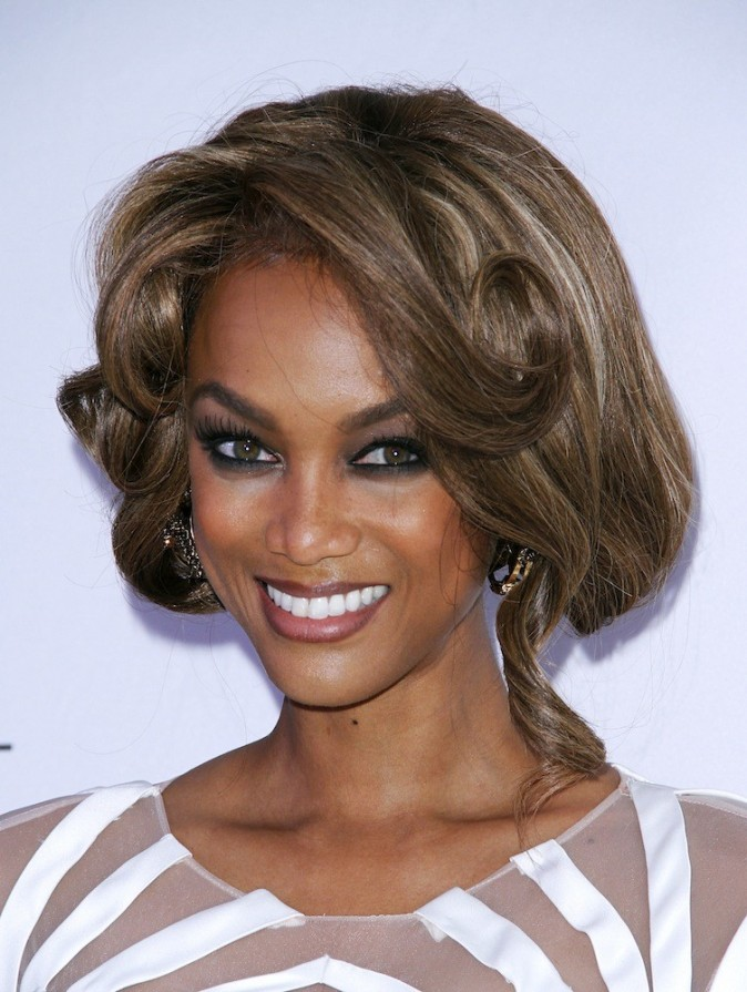 Tyra Banks : diplome en business d'Harvard