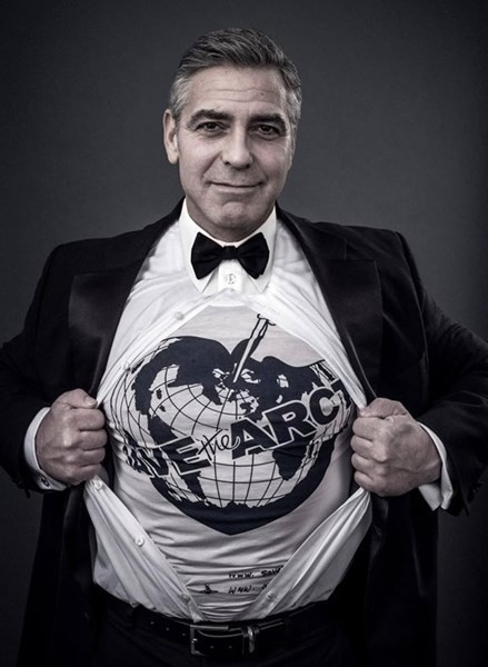 George Clooney pour Save The Arctic