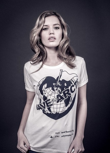 Georgia May Jagger pour Save The Arctic
