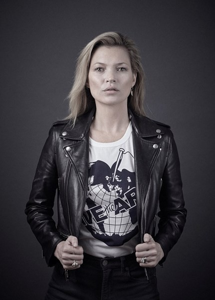 Kate Moss pour Save The Arctic