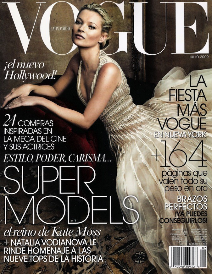 Kate Moss pour Vogue