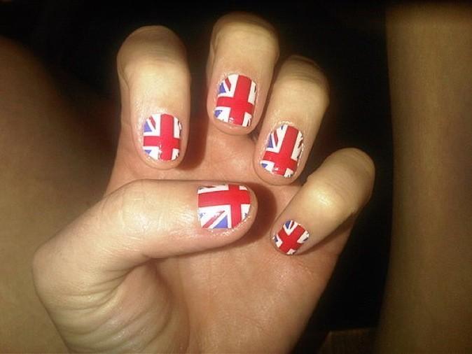 Le drapeau anglais !