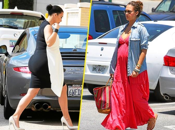 Kim Kardashian: Pour sa grossesse, elle devrait s'inspirer de…