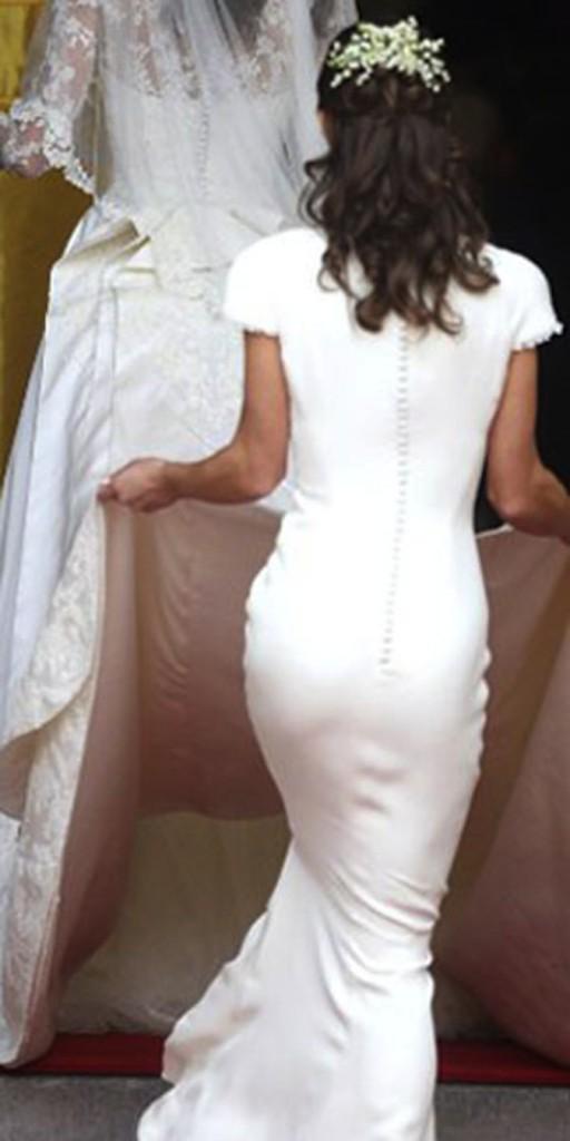 Pippa Middleton avait presque volé la vedette à sa soeur lors de son mariage