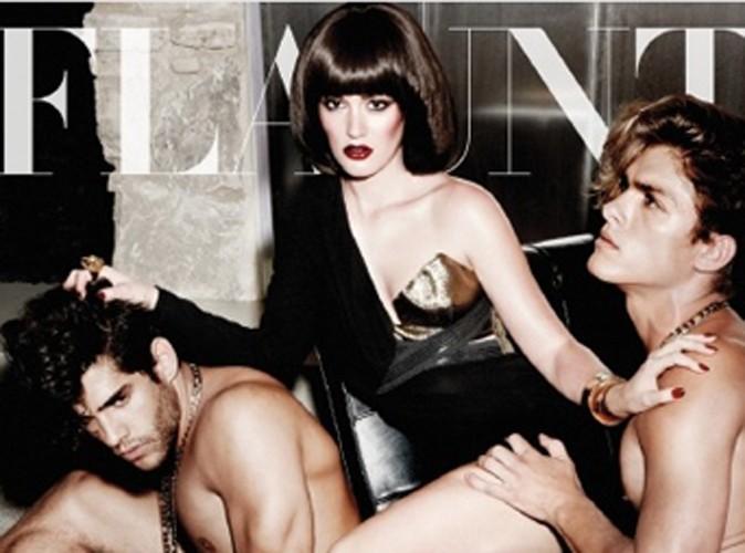 Leighton Meester épatante en couverture de Flaunt Magazine !
