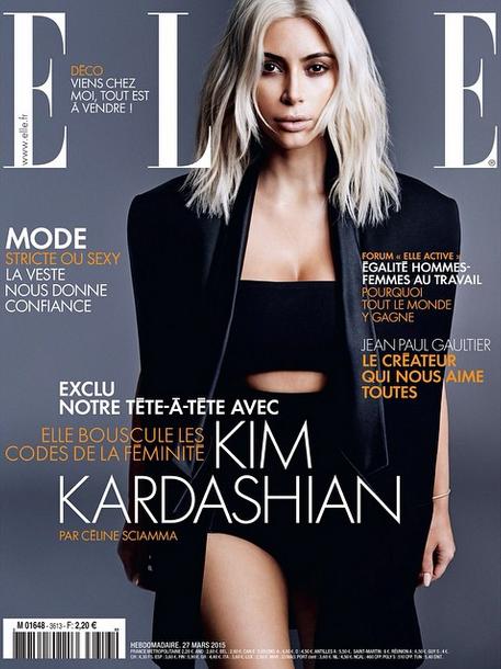 Les bakstages du shooting photos de Kim Kardashian pour Elle ! Comme si vous y étiez !