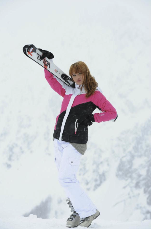 Céline dans Les Ch'tis font du ski