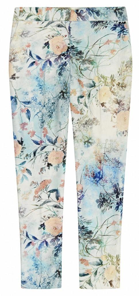 Pantalon imprimé fleurs, Asos, 35 €.