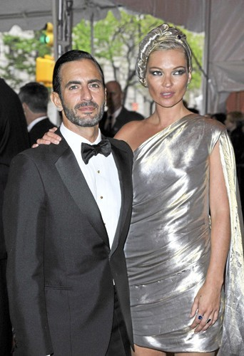 Kate Moss et Marc Jacobs