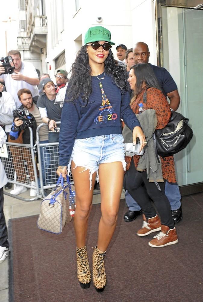 """""""J'adore Rihanna. Son style est éclectique et elle s'habille aussi bien dans la rue que sur le red carpet."""""""