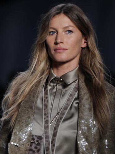Gisele Bundchen pour Givenchy