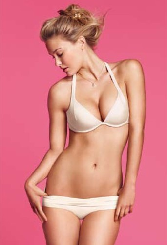 Photo : Bar Refaeli en lingerie Delight Milk Passionata