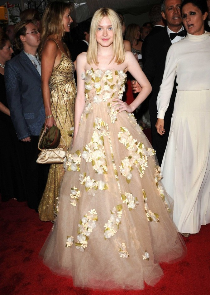Avrils 2010 : robe haute couture pour soirée de gala