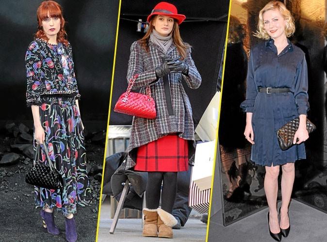 Look de star : Elles portent toutes ... Le sac Mademoiselle de Chanel !