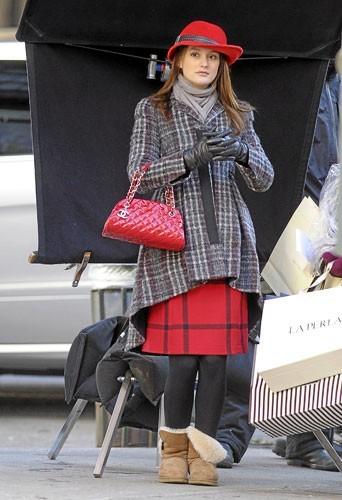 Look de star : Le sac Mademoiselle de Chanel de Leighton Meester !