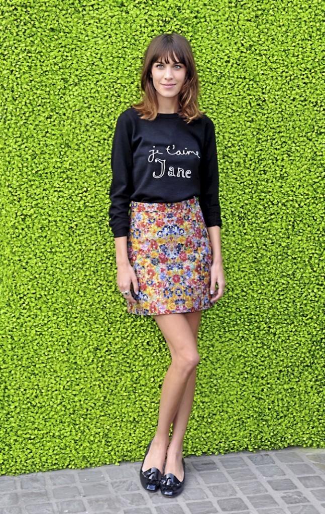 Alexa Chung, une icône de mode !