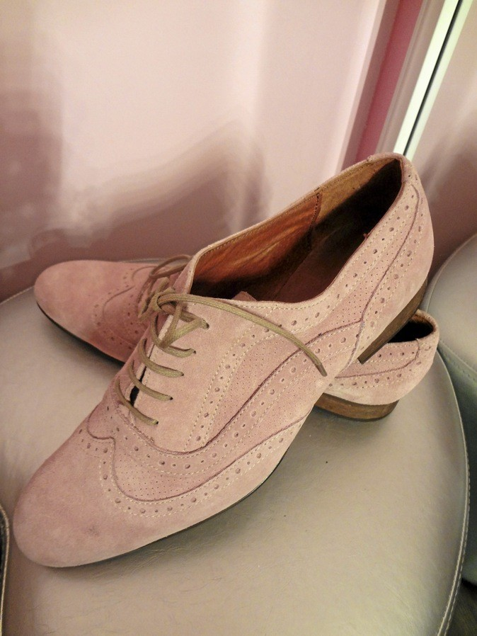Derbies en cuir, Benetton 109 €