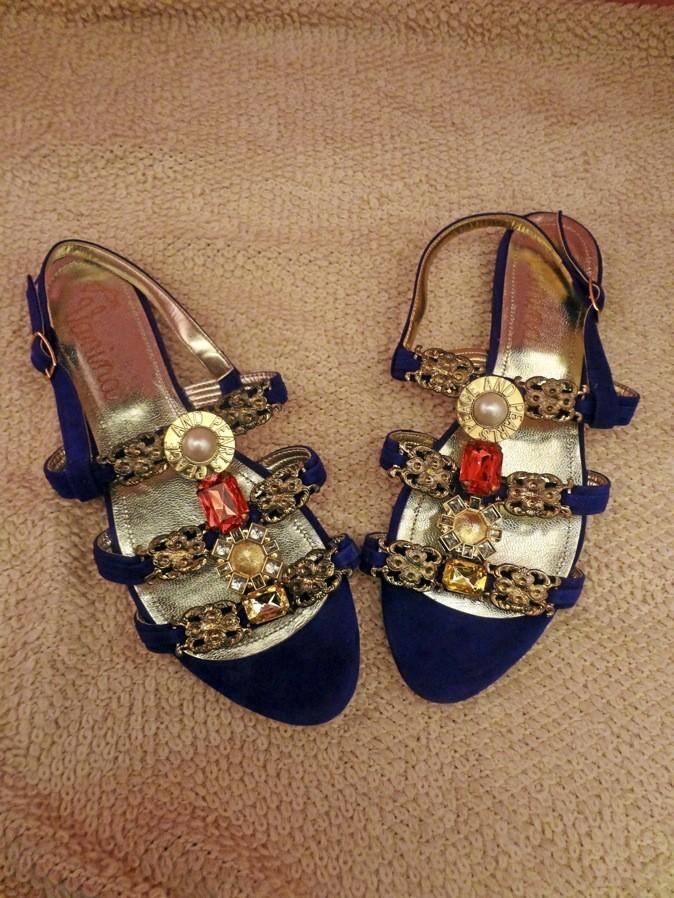 Sandales bijoux, Vanina 139 €