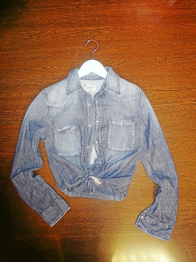 Chemise en jean, School Rag 85 €