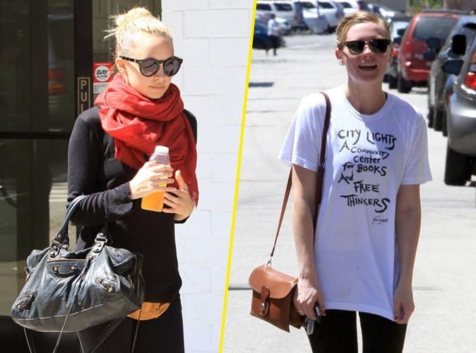 """Look de star : Nicole Richie et Kirsten Dunst : """"Jamais de sport sans mon it bag"""" !"""